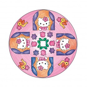 2in1 Mandala-Designer Hello Kitty