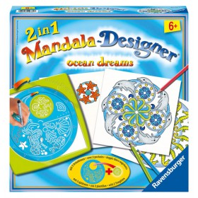 2 in 1 Mandala Designer Ocean Dreams
